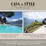 Nuova uscita TROVOCASA Corriere della Sera: Ville di prestigio sul Lago di Como