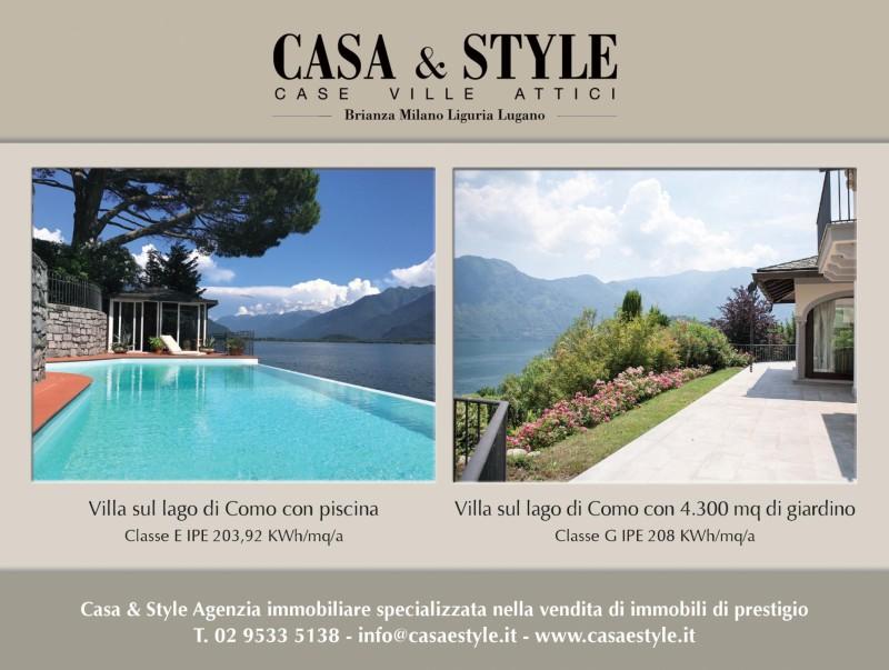 Nuova uscita TROVOCASA Corriere della Sera: Ville di prestigio sul Lago di Como - 1