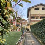 Appartamento con giardino in vendita a Busnago