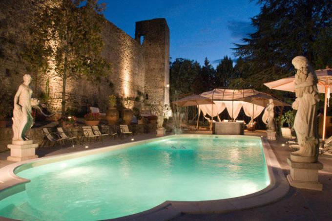 Piscina - Castello di Castelleone in vendita a Deruta Perugia - Perugia - 3