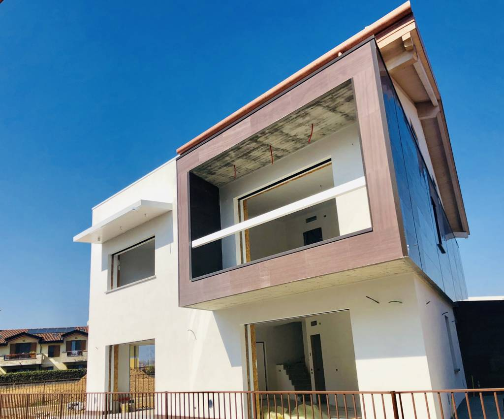 Fotovoltaico - Villa singola nuova costruzione in vendita a Bernareggio - Monza e Brianza - 3